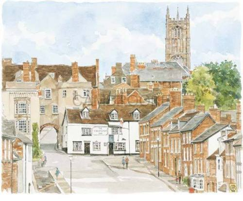Ludlow - Gateway by Glyn Martin