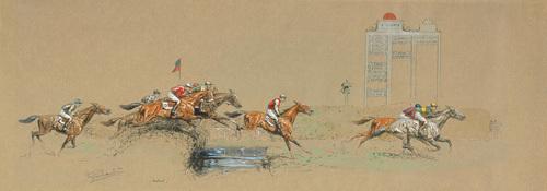 Auteuil by Eugene Pechaubes
