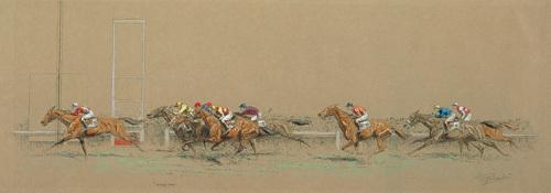 Longchamps by Eugene Pechaubes