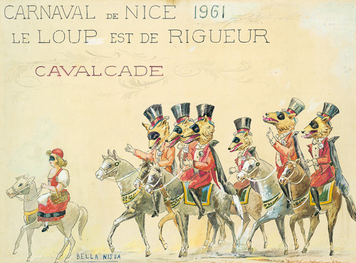 Carnaval De Nice (Le Loup) 1961 by Sauvigo