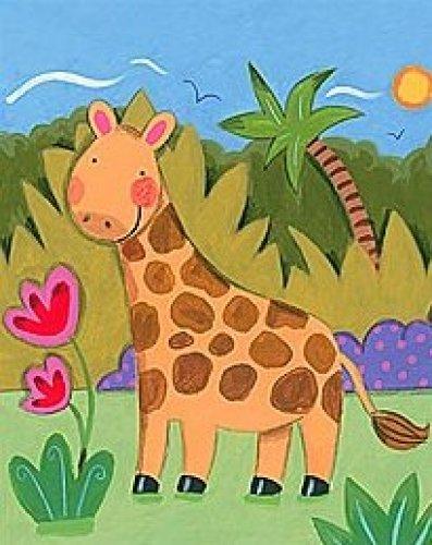 Baby Giraffe by Sophie Harding