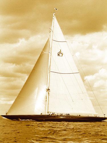 Classic Yacht II by Ingrid Abery