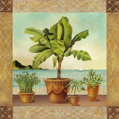 Potted Palm I by Don Tyler