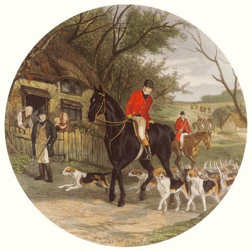 Here Come The Hounds by William Joseph Shayer