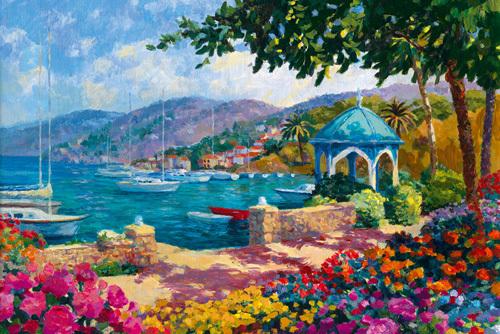 Italian Lakes I by Julian Askins
