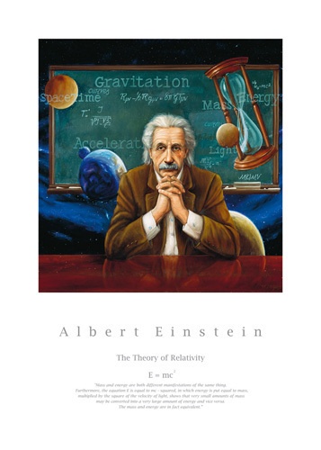 Albert Einstein by William Meijer
