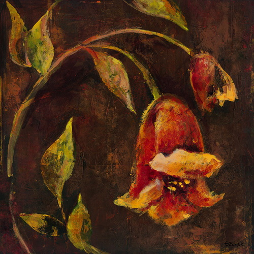 Flowers And Leaves II by Georgie