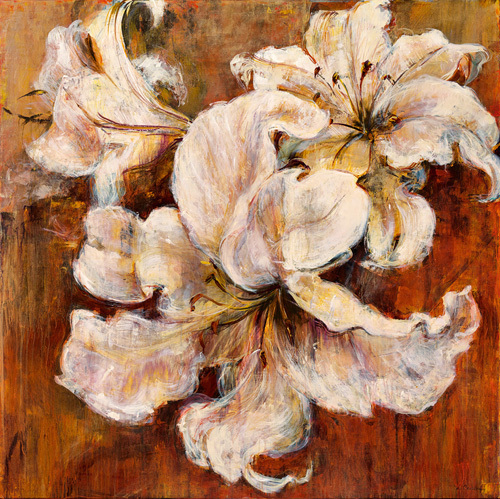 Gilded Lilies by Carson