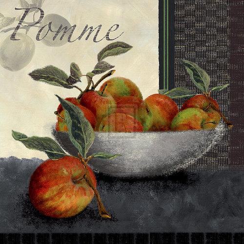 Les Pommes by Linda Wood