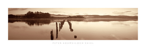 Loch Shiel by Peter Adams