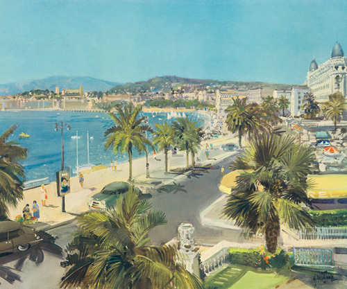 Le Promenade Nice by Gabriel Deschamps