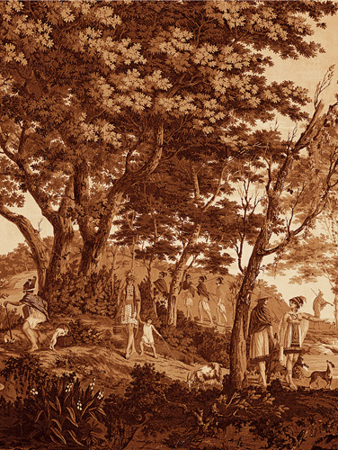Arcadia (Sepia) V by Anonymous