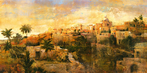 North African Vista by Patrick