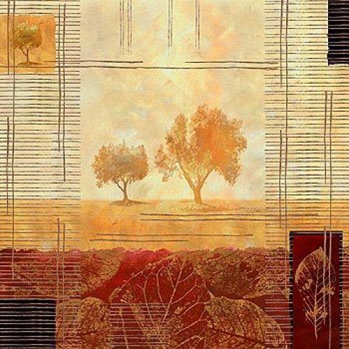 Tree Reflections III by Linda Wood