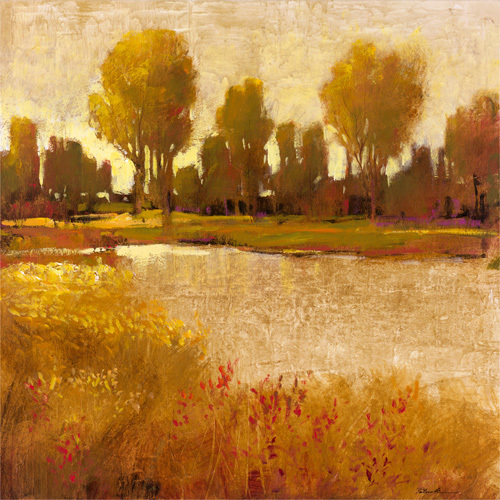 Golden Light II by Patrick