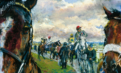 After The Bell, Newcastle Races by Jay Boyd Kirkman