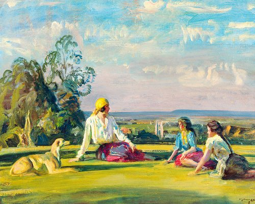 Gypsy Tales by Sir Alfred Munnings