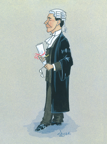 The Barrister by Simon Dyer