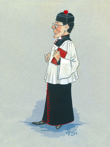The Monseignor by Simon Dyer