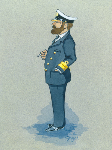 The Naval Captain by Simon Dyer