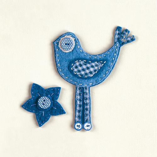 Fuzzy Bird II by Madeleine Millington