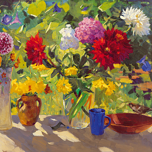 Summer Bloom by Valeriy Chuikov