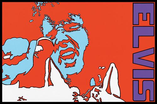 Elvis by Peter Marsh