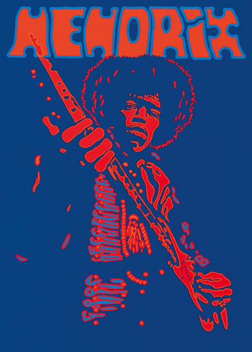 Hendrix by Peter Marsh