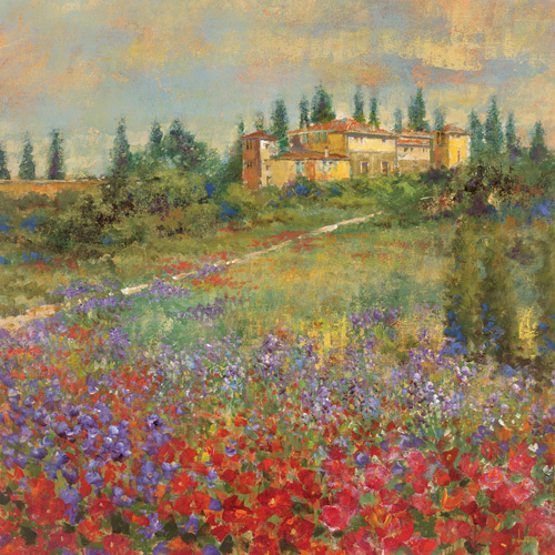 Provencal Village XI by Longo