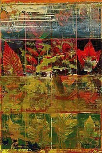Leaves In A Row I by John Douglas