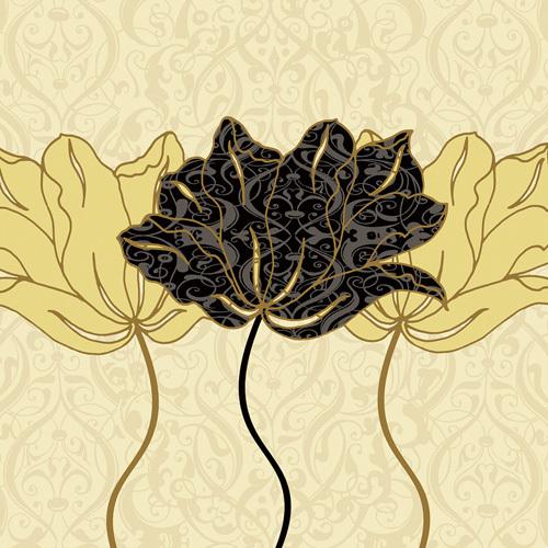 Golden Cluster I by Linda Wood