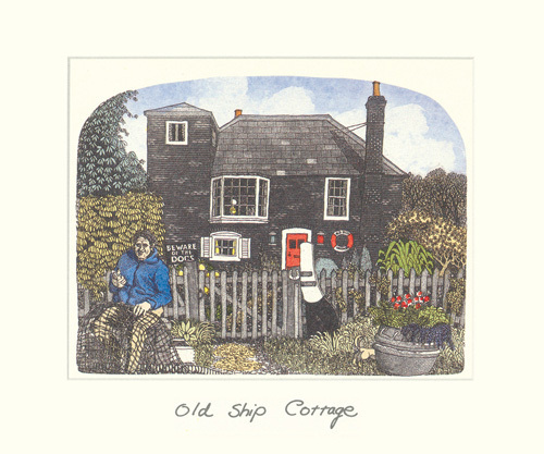 Old Ship Cottage by Chad Coleman