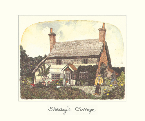 Shelley's Cottage by Chad Coleman