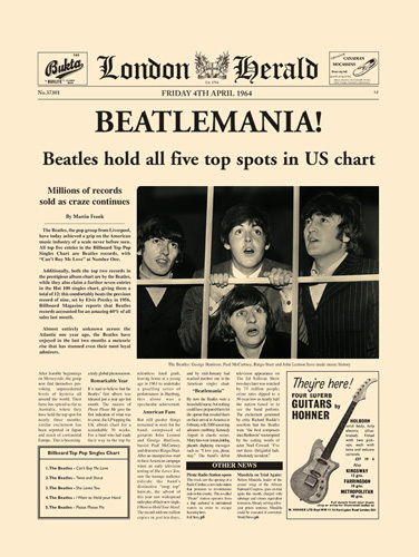 Beatlemania! by London Herald