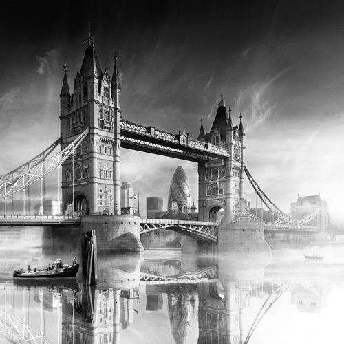 River Thames by Jurek Nems