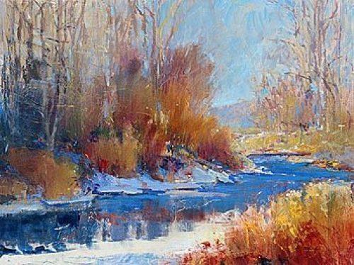 Winterscene by Patrick