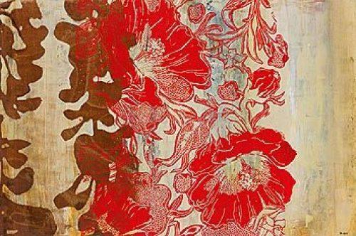 Silkscreen Floral by Bridges
