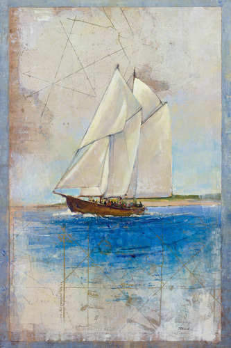 Boats And Maps by Patrick