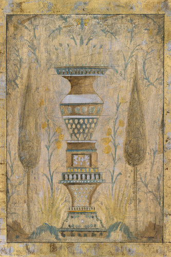 Eastern Garden Panel III by Winchester