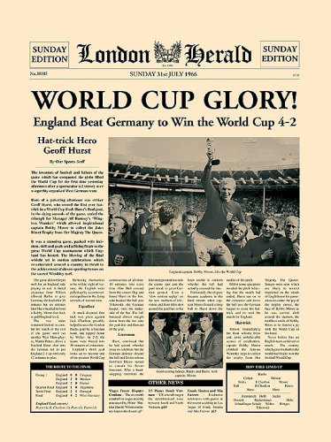 1966 World Cup by London Herald