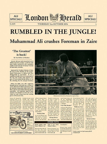 Rumbled In The Jungle! (large) by London Herald