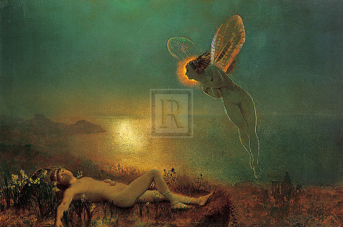 Endymion On Mount Latmos by John Atkinson Grimshaw