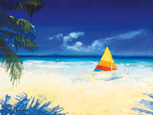 Barbados Beach I by Paul Brown