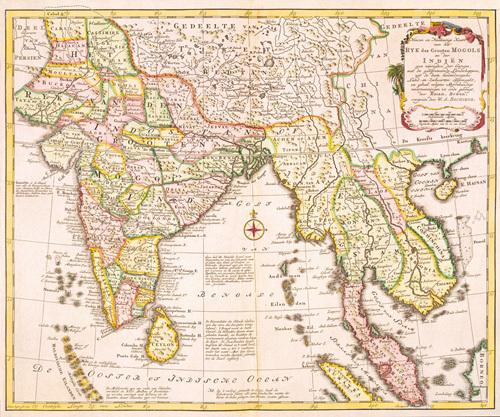 Ryk des Grooten Mogols en der Indien 1785 by William Bachienne