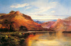 Lakeside Rendezvous (Kirk at Arrochar) by Alfred de Breanski
