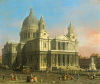 St. Paul's Cathedral 1754 by Giovanni Canaletto