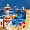 Harbour Lights II by Anuk Naumann