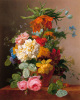 Floral Still Life I by Arnoldus Bloemers