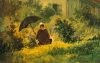 The Botanist by Carl Spitzweg