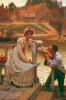 Courtship by Edmund Blair Leighton